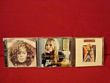 TINA TURNER LIVE IN EUROPE JANET SELF TITLED CARRIE UNDERWOOD MOVE ON 3 NEW CD'S