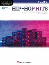 Hip-Hop Hits for Flute Instrumental Play-Along Book and Audio New 000328208