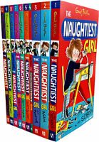 Enid Blyton The Naughtiest Girl Collection 10 Books Gift Set Brand New Cover