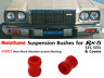 Rx5 / 121 / 121L / Cosmo Suspension Bushings (Nolathane 43002 -Rear Shock Absorb