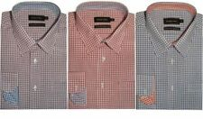 Camicie classiche da uomo multicolori manica lunghi cotone