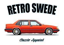 VOLVO 940 / 960 t-shirt. RETRO SWEDE. CLASSIC CAR. SWEDISH. MODIFIED.