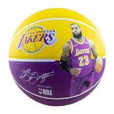 Spalding 5098JAM LeBron James (NBA Player Series) Basketball, Size 7 - Yellow/Purple
