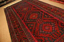COLLECTORS' PIECE Antique Zanjir Gul Famous Tribal Natural Vegetable Dye Caepet