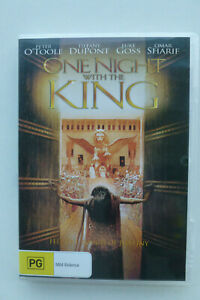 One Night With The King DVD - Peter O'Toole Omar Sharif - Free Post Tracking