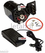 Domestic Household Old Sewing Machine Motor + controller 220V 180W 0.9A