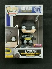 Funko Pop Batman #117 TDKR Black Armor PX Previews Exclusive NIB