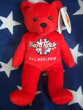 HRC Hard Rock Cafe Philadelphia Rita Beara Bear Teddy Herrington