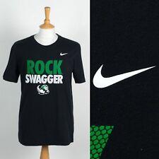 MENS NIKE SLIPPERY ROCK UNIVERSITY T-SHIRT USA COLLEGE SPORTS ROCK SWAGGER M
