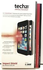 TECH 21 Impact Shield Self Heal iphone 5 5s 5c SE S Screen Protector- New Sealed