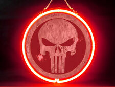 Punisher Hub Bar Display Advertising Neon Sign