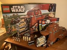 Lego Star Wars 7662 Trade Federation MTT RETIRED 2007 - 100% COMPLETE BOX RARE