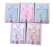 [50%OFF!]  Baby 100% Cotton Towel Set Boxed