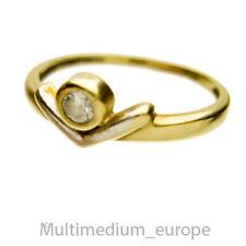 333 er Gelbgold Zirkonia Ring 8k zirconia yellow gold 8Karat 🌺🌺🌺🌺🌺