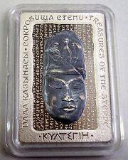 Kazakhstan 500 tenge KULTEGIN 2016 Proof silver 1oz