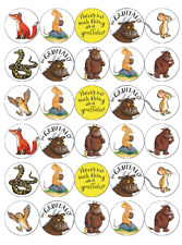 30x Gruffalo Cupcake Toppers Edible Wafer Paper Fairy Cake Toppers