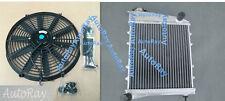 ALUMINUM RADIATOR for AUSTIN MINI/ROVER COOPER/MORRIS ALL MODELS 1967-1991 & FAN