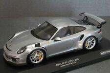 Porsche 911 Type 991 Gt3 RS 2015 Silver 1/18 Minichamps 153066233
