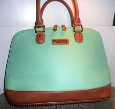 Joy & Iman Large Leather Satchel, Pre-owned, Excellent Never Used Condition