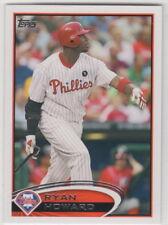 2012 Topps Baseball Philadelphia Phillies Team Set