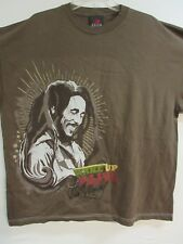 New - Bob Marley Wake Up & Live Band / Concert / Music T-Shirt 2Xl / X X Large