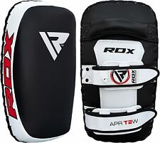RDX Kick Boxing Strike Curved Arm Pad MMA Focus Muay Thai Punch Shield Kicking