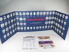 ESSO COLLECTION OF FOOTBALL CLUB BADGES 1970s MINT Empty Card + Facsimile Advert