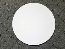 Circular White Chalkboard Wall Hanging Art Decor Use for Lists Writing Calendar