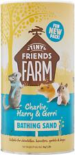 SupremePetFoods Tiny Friends Farm Bathing Sand, Charlie, Harry Gerri 2.2lb