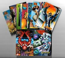 1995  Marvel Masterpieces - Complete CANVAS Chase Insert set (22)