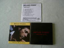 BRYAN FERRY job lot of 3 promo CDs Dylanesque Midnight Train Dance With Life