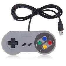 USB verdrahtet Nintendo SNES Classic Spiel Controller SFC GamePad für PC