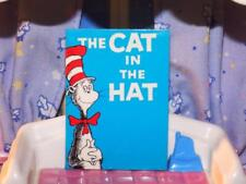 Miniature Dr. Suess The Cat in the Hat book fits Barbie Dolls Blank Page inside