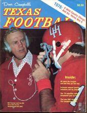 1976 Dave Campbell's Annual Texas Football Magazine Bill Yeoman Houston