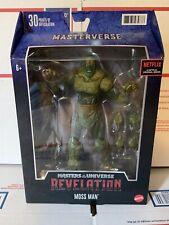 Masters of the Universe Revelation Moss Man Figure MOTU He-Man Netflix Origins
