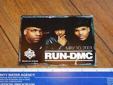 Original 2001 Run Dmc House Of Blues Concert Handbill