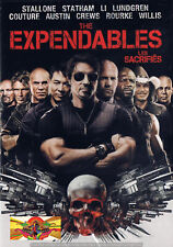 Thriller - The Expendables (DVD, 2010) (Bilingual) All Star Cast SLIPCOVER NEW