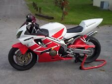 Red White Complete Injection Fairing Kit for 2001 2002 2003 HONDA CBR 600 F4i