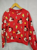 Mickey Mouse Sweater Jumper Pull Over Size Large H M Disney