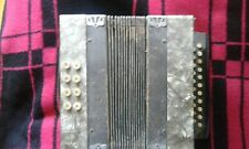 Ziehharmonika Akkordeon KnopfAkkordeon alt antik diatonisch um 1920 8 Bässe