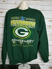 Vintage 1998 Green Bay Packers Back to Back to Back Division Champs Sweatshirt