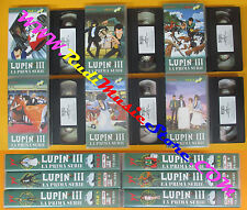 6 VHS film LUPIN III La prima serie 1/6 animazione 2001 YAMATO VIDEO(F143)no dvd