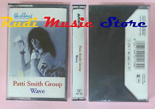 MC PATTI SMITH GROUP Wave italy ARISTA 401 139 SIGILLATA cd lp dvd vhs