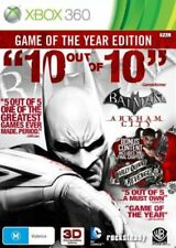 Batman Arkham City - Game of the Year Edition Xbox 360 Game USED