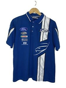 FPR FPV Ford Racing Genuine V8 Supercars Polo Shirt Size Men's M Exc Condition