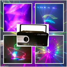 1.5W Laser Light Show Projector 3D Full Color Lasers ILDA DIsco DJ concert Pro