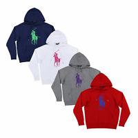 Ralph Lauren Womens Hooded Sweatshirt Big Pony Pullover Prl Xs S M L Xl New Nwt