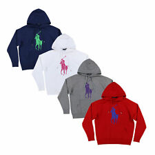 fd967f3c3cd21 Polo Ralph Lauren Womens Big Pony Pullover Hoodie Sweatshirt Jacket Xs S M  L Xl