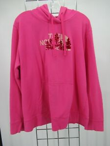 H2730 The North Face Women's Long Sleeve Half Dome Pullover Hoodie Size 2XL