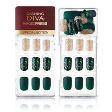 [DASHING DIVA] Magic Press Gel Nail Art Polish Manicure 30 pcs AWESOME GREEN